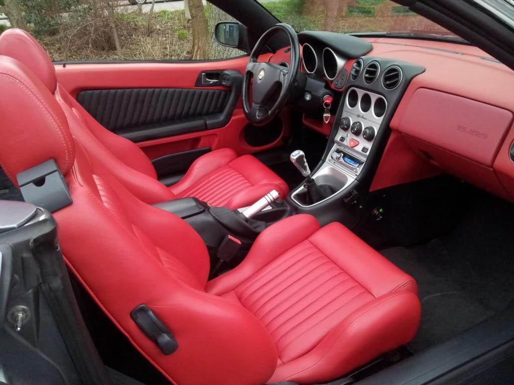 Interior Codes Yaroslav Bozhdynskys Personal Website Alfa Romeo 831 Red Leather