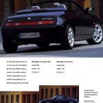 Alfa Romeo Spider Edizione Classica 2001 03