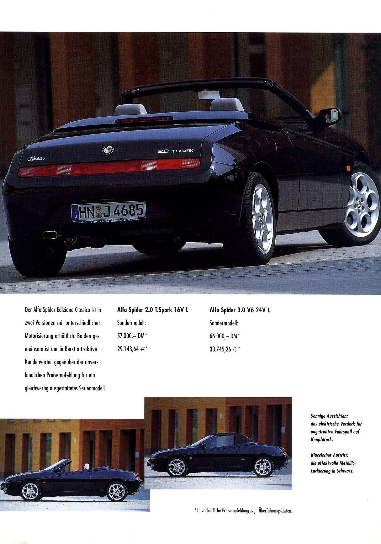 Edizione Classica Spider SS Elegant 2001 Yaroslav Bozhdynsky s