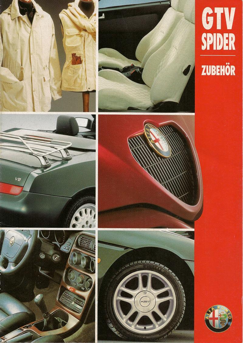 Options Brochures Yaroslav Bozhdynskys Personal Website - Alfa romeo spider accessories
